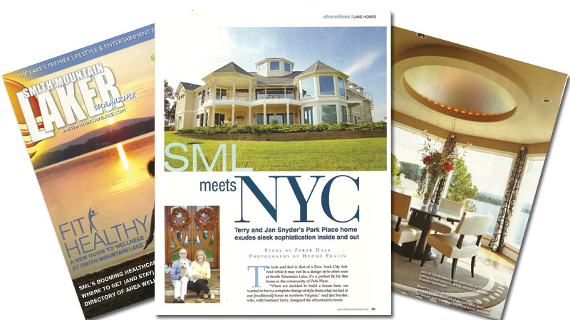 Brockworks Featured in Laker Magazine with Custom Home Built