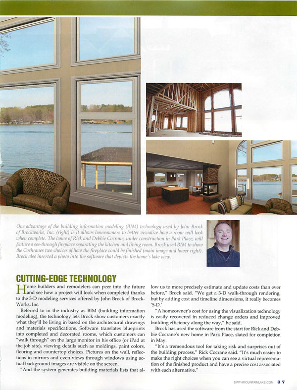 BrockWorks Smith Mountain Lake Home Guide 2011 Page 3