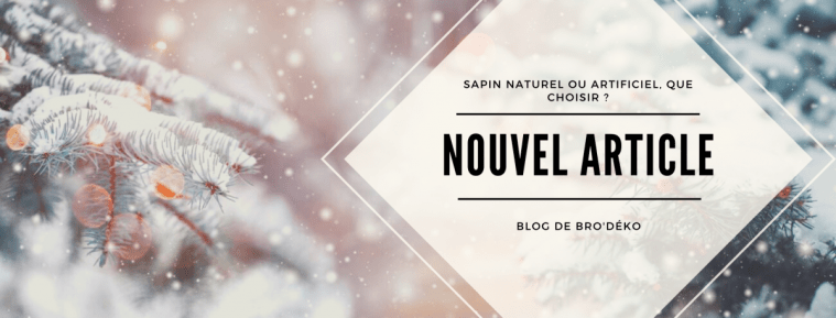 Sapin artificiel ou naturel que choisir