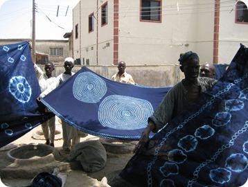 textile indigo nigeria