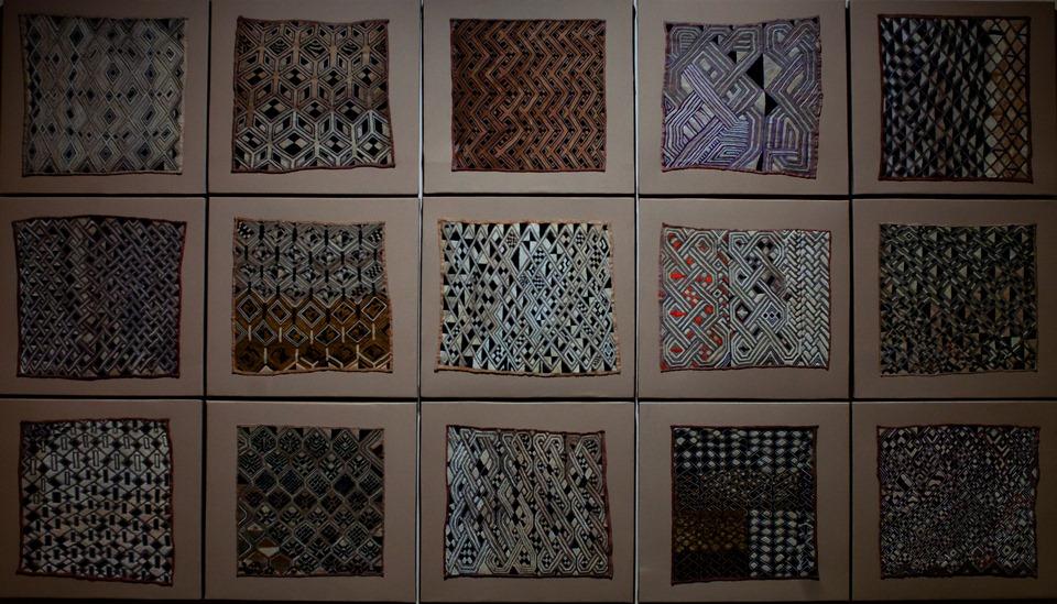 panneau de textiles Kuba