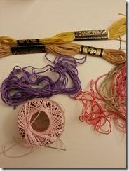 fil coton perlé et mouliné