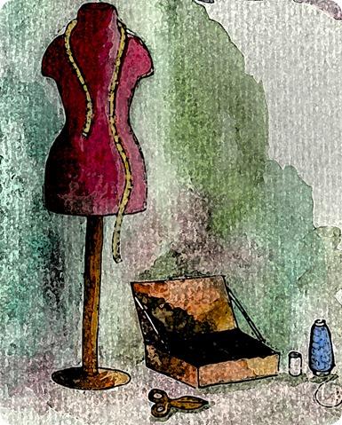 Nécessaire de couture par Sophie Malet