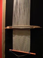 Métier à tisser traditionel utilisé par El Camino