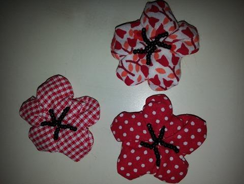 fleur de cerisier en tissu
