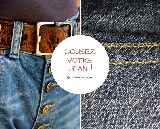 Cousez votre jean !