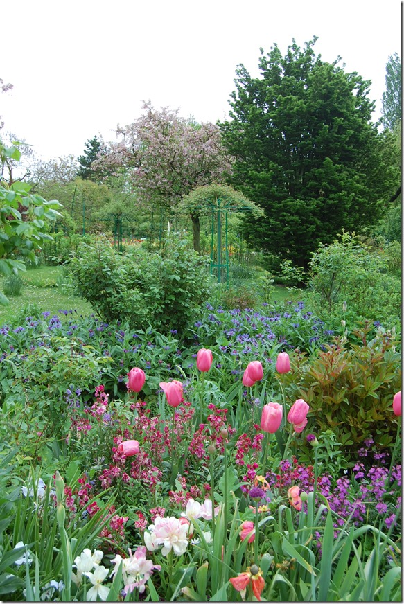 Jardin de Giverny de Claude Monet
