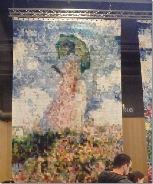 tricote un sourire tableau Monet