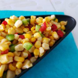 Salade de blé d'inde à la mexicaine