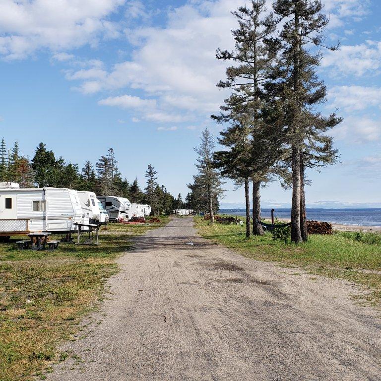 Terrain de camping Pointe-aux-anglais