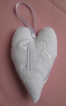 coeur blanc B 1