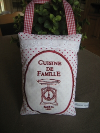 cuisine famille rouge