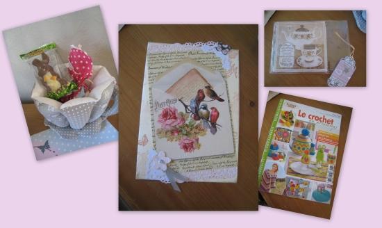 cadeaux 3 suzanne swap printemps 2014 blog