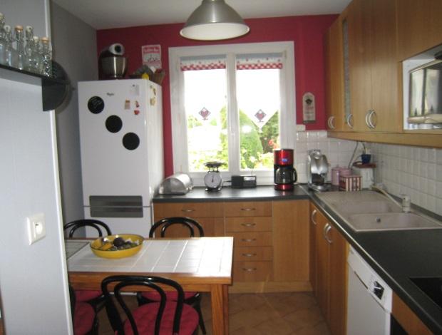 ma cuisine grise et rouge