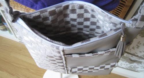 interieur sac bandouliere
