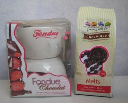 fondue et chocolat Nanicousette