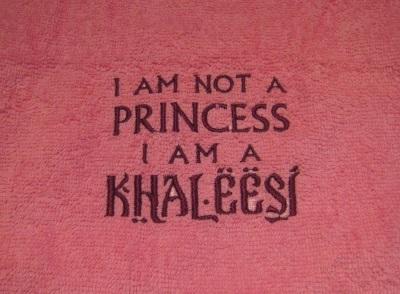 serviette khaleesi games of thrones