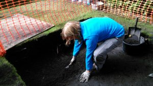 Digging for Kirkwall castle