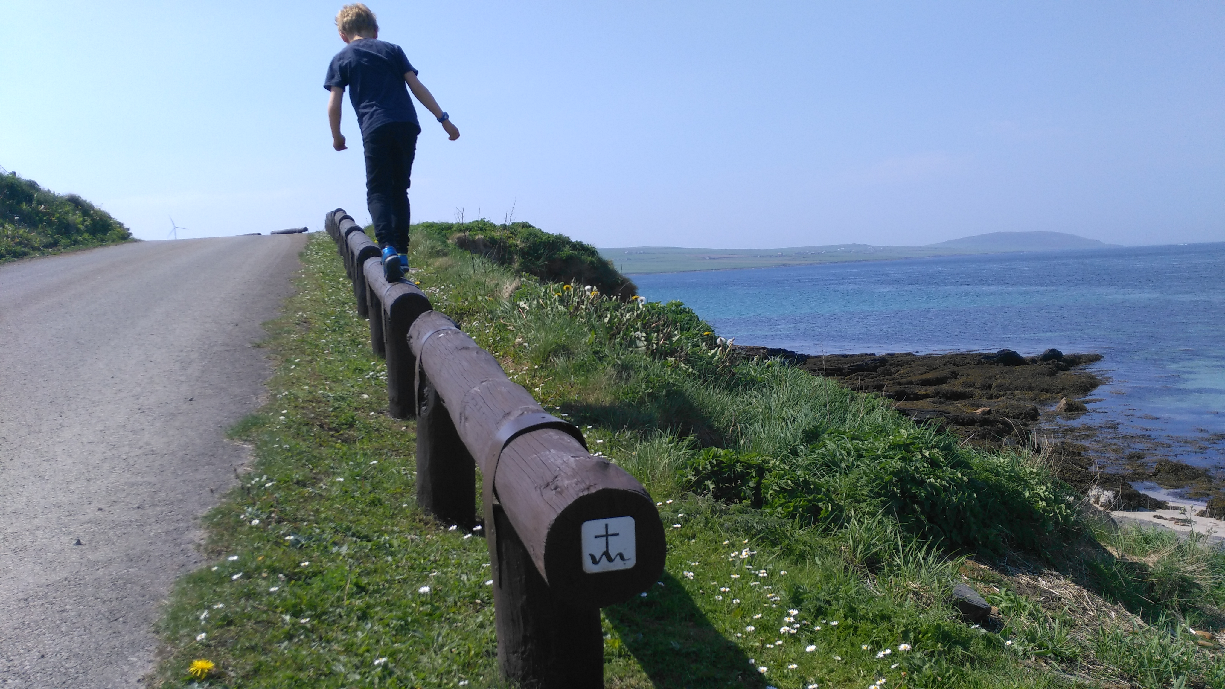 An Orkney pilgrimage: On St Magnus Way. The start, in Evie.