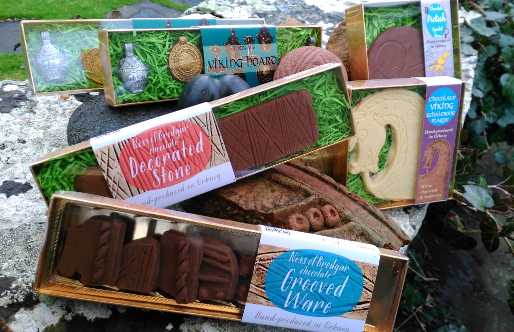 Archaeological finds made in chocolate.