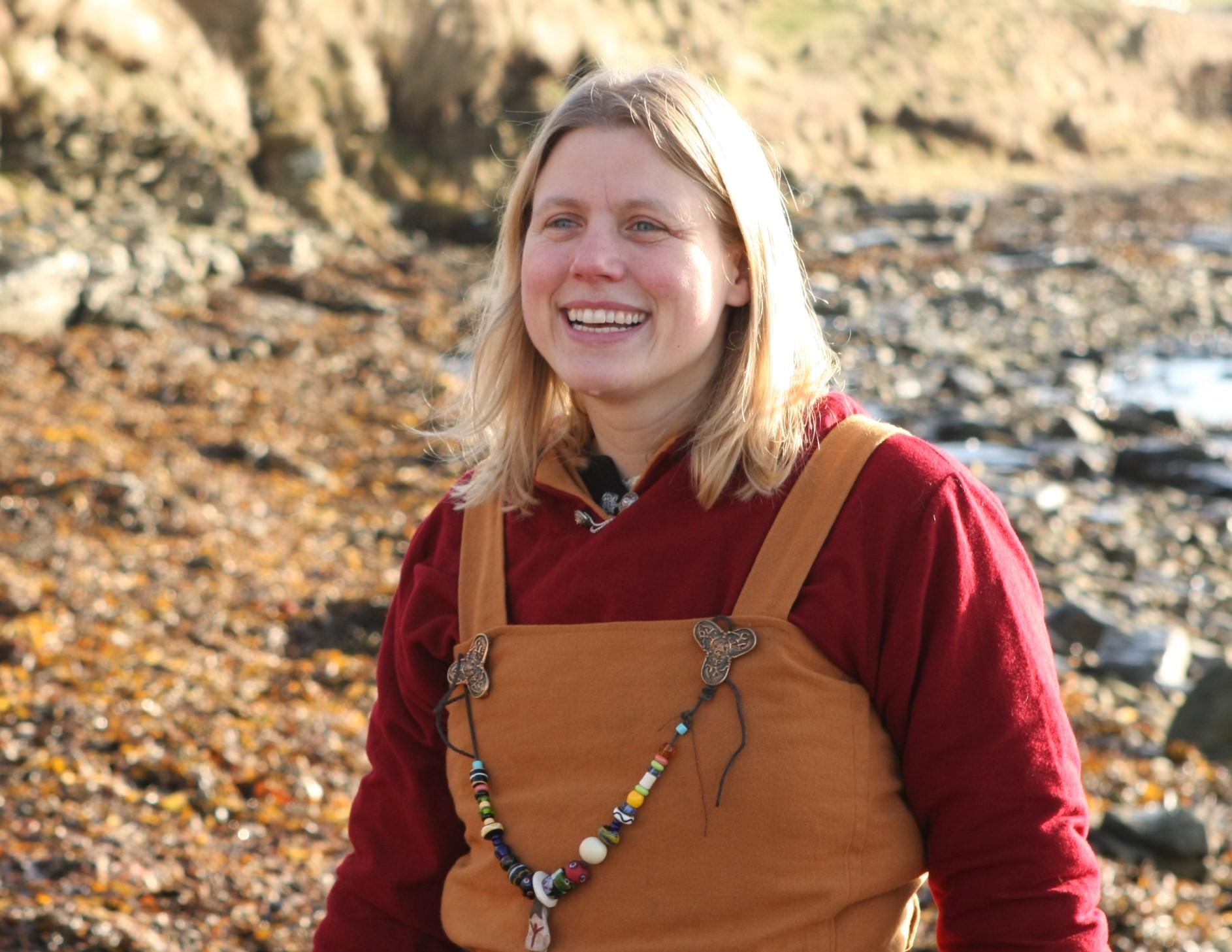 Ragnhild Ljosland Orkney Viking Hiking guide