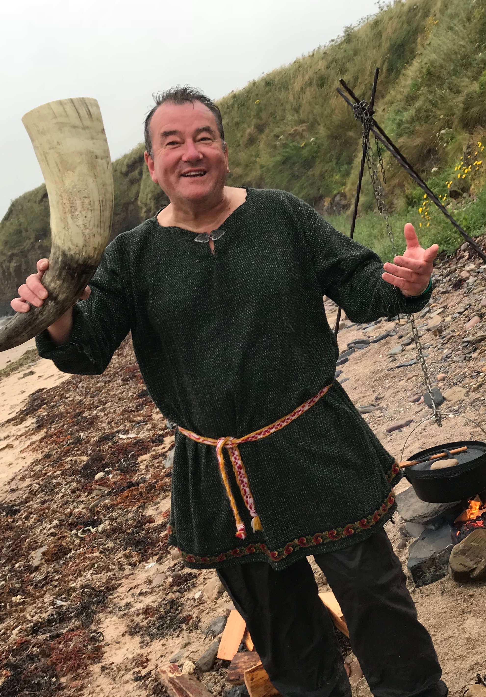 Viking Hiking: Welcome to Viking Orkney, with a feast on the beach!