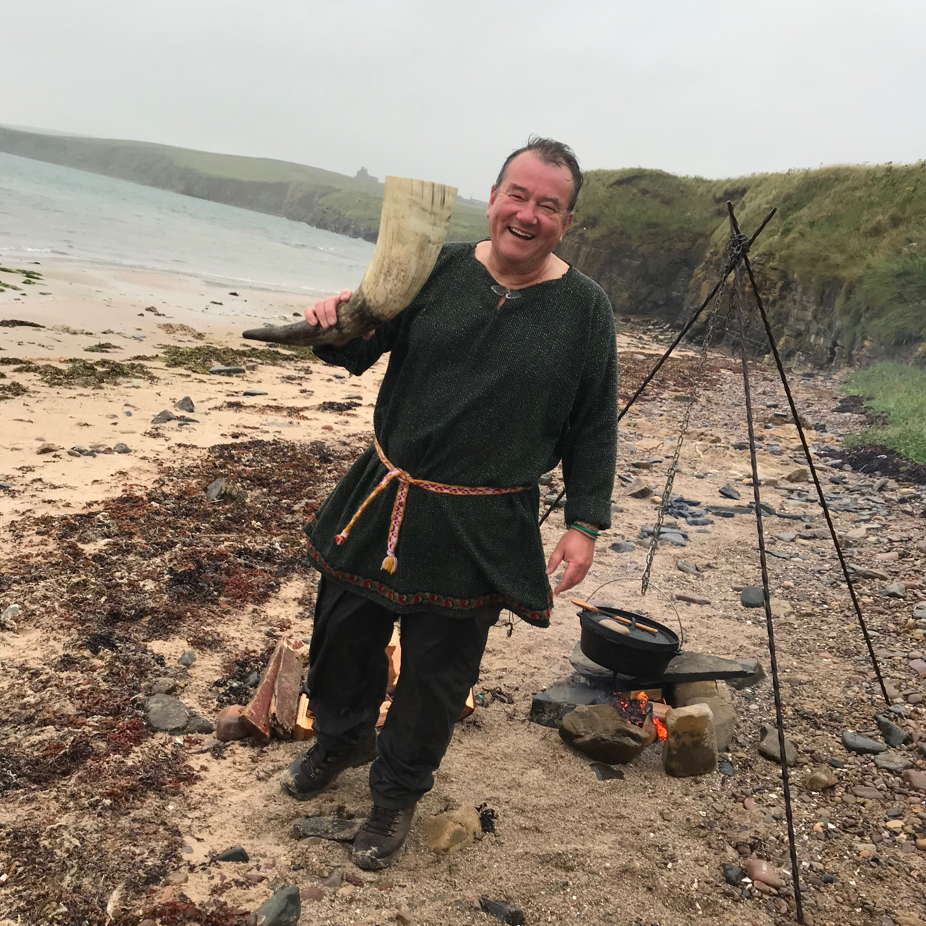 Mark welcomes you to Viking Feast on the Beach