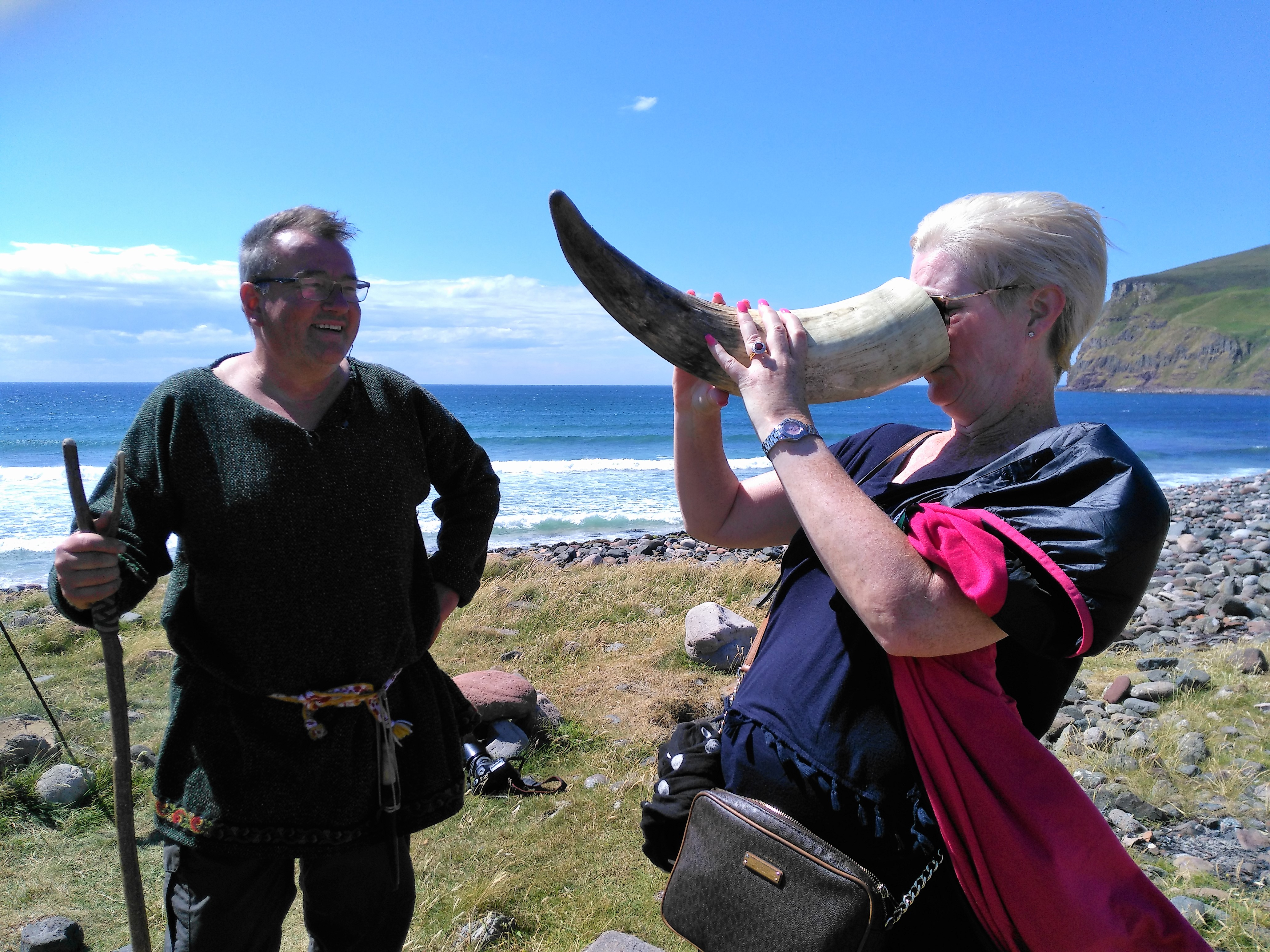 Viking Voyage to Hoy. Orkney. Island day trip. Guided tour