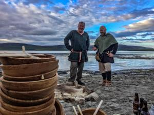 Viking Feast on the Beach, Orkney Time Travel