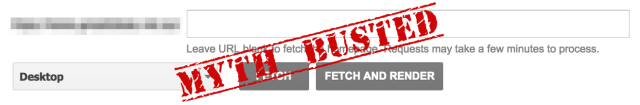 fetch as google myth