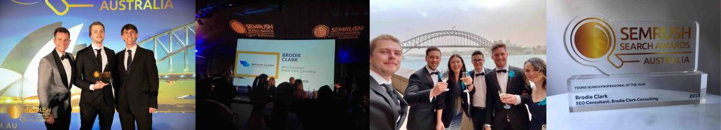 young search professional of the year 2019 brodie clark