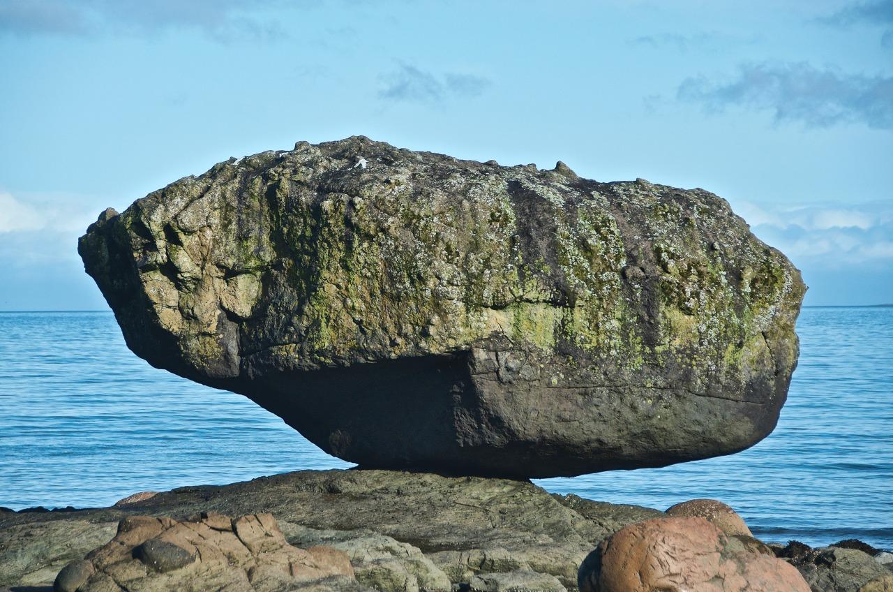 Balance Rock, Tllaal, Haida Gwaiii