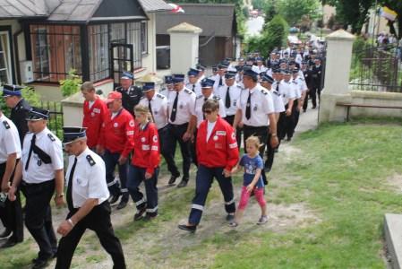 Udział OSP Brodzica w III Pielgrzymce Strażaków do Sanktuarium MB Sokalskiej
