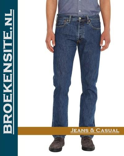 Levi 501 jeans spijkerbroek Broekensite met logo