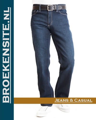 Mustang Big Sur dark used M 3169 5126 580 Broekensite jeans casual