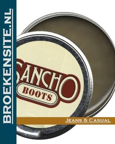 Sancho boots leervet kleurloos Broekensite jeans casual