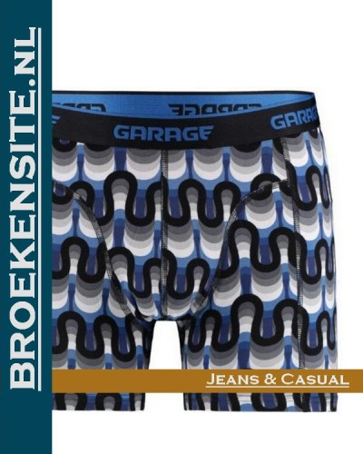 Garage boxershort Frisco blue G 0802-FB strakke boxer Broekensite.nl jeans casual