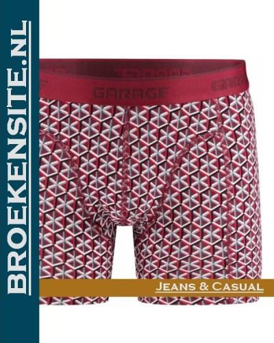 Garage boxershort Nevada red G 0802-NR Broekensite.nl jeans casual