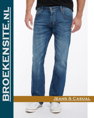 Mustang Michigan Straight light scratched used M 3135-5111 - 583 Broekensite jeans casual