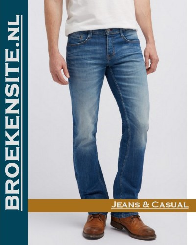 Mustang Oregon Straight light scratched used M 3115-5111 - 583 Broekensite jeans casual