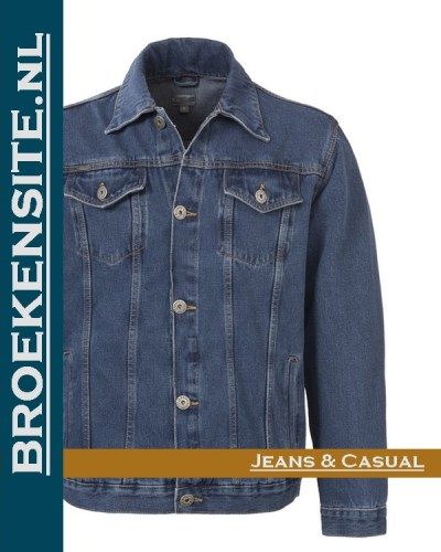 Brams Paris Elton Jacket spijkerjack BP 3.3095 - A51 Broekensite jeans casual