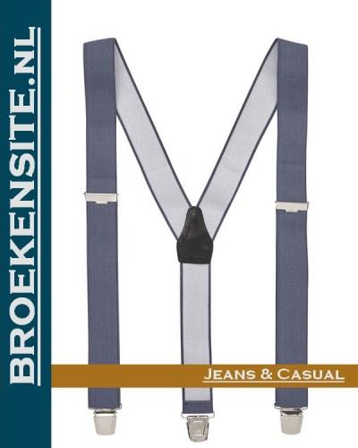 Bretels Luxe grijs TB Bretels-GR Broekensite jeans casual