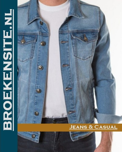 New Star Harvard Jack stretch short light NS-999-HARVARD-23-59 Broekensite jeans casual