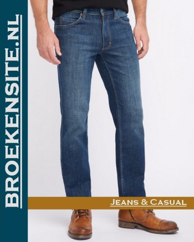 Mustang Tramper Tapered denim blue M 1006743 - 5000 881 A Broekensite jeans casual