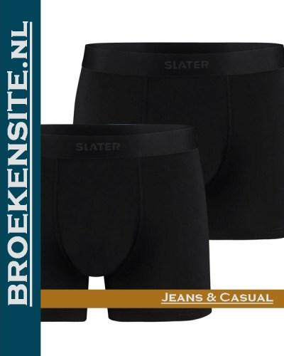Boxershorts Slater Bamboo (2-pack) – Zwart SL-8820-BL Broekensite.nl jeans casual