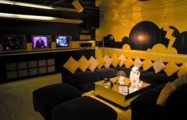 Elvis' TV Room, Graceland