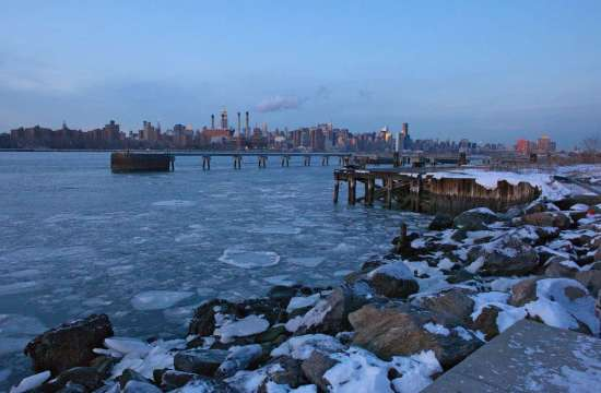 East River on the Rocks