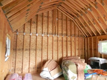Star Lake Road Addition Existing Storage Space Rear Wall