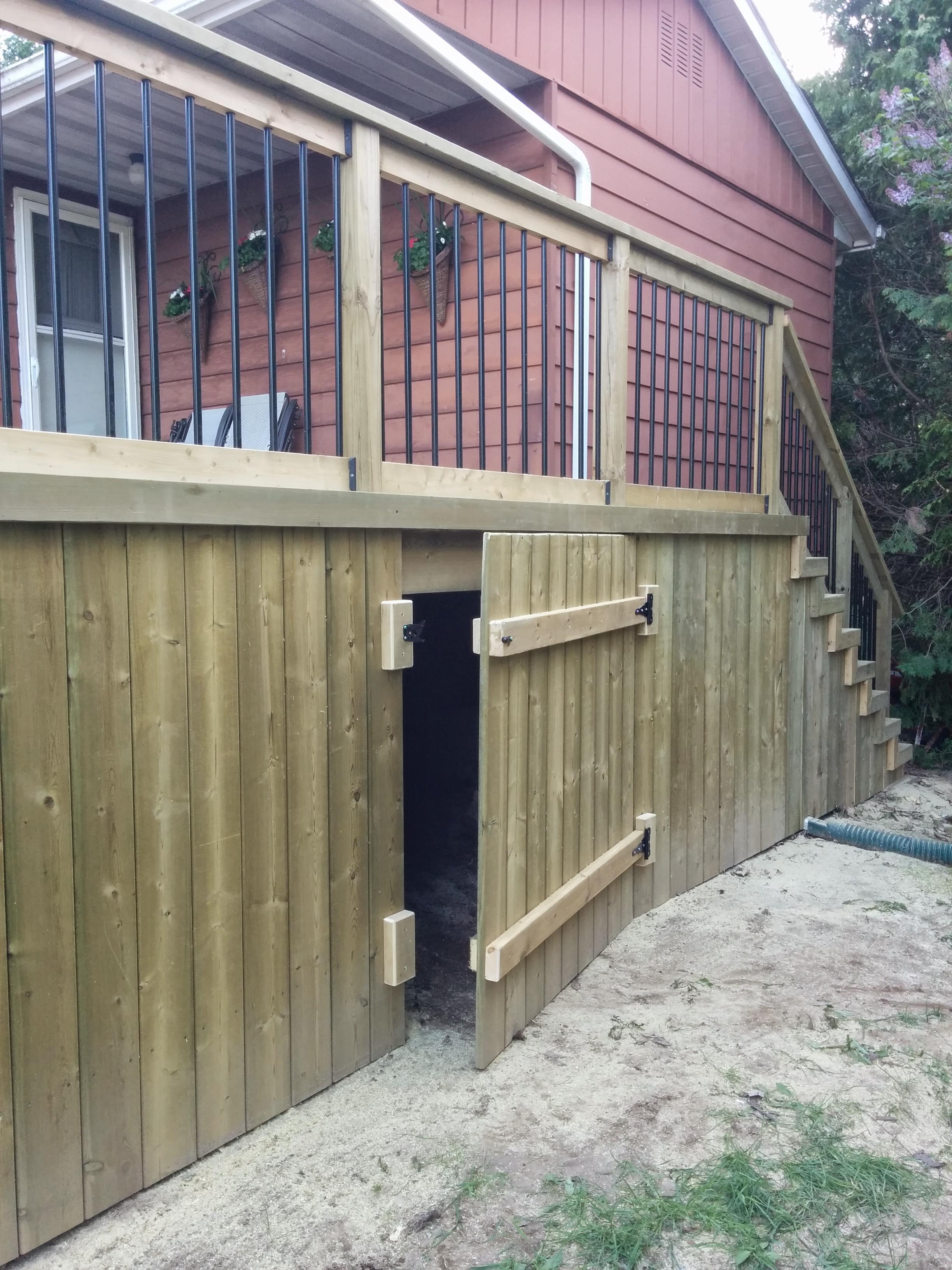 Back Porch Building Ideas