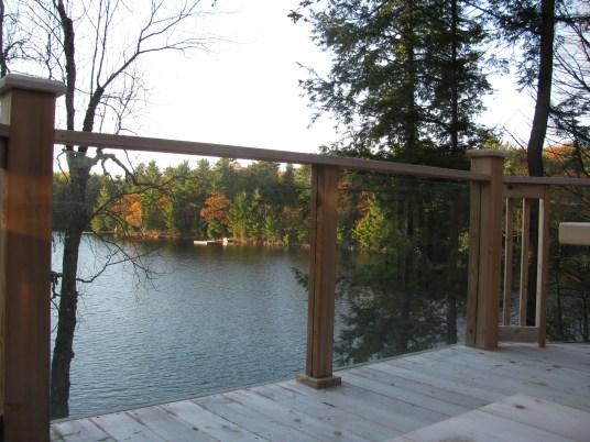 Parry Sound Deck Permit Dwg Glass Railing